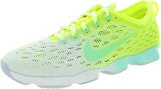 Womens Flyknit Zoom fit Agility Running Trainers 698616 Sneakers Shoes (US 6, Volt Artisan Teal Liquid Lime White 702)
