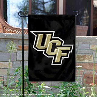 College Flags and Banners Co. Central Florida Knights Black Garden Flag