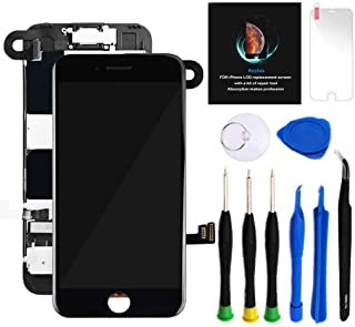 """Best for iPhone 8 Plus Screen Replacement Kit Black 5.5"""" LCD Display iPhone 8 Plus Replacement Touch Screen Digitizer Full Assembly with Front Camera+ Earpiece+ Repair Tools Kit+ Screen Protector (Black) Review"""