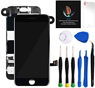 for iPhone 8 Plus Screen Replacement Kit Black 5.5