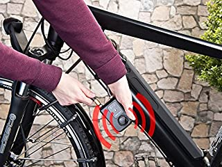 Solebe Bluetooth Smart Lock Keyless Bike/Motorcycle/Gate Door Smart Lock with Anti Theft Alarm 110dB Phone APP Control