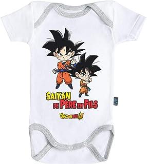 05eb6c0c3 Baby Geek Saiyan de père en Fils - Goku et Goten - Dragon Ball Super ™