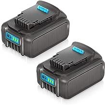 LiBatter 2Pack 20V MAX 6.0Ah Lithium Ion Premium Battery for DEWALT DCB204 DCB205 DCB206 DCB205-2 DCB200 DCB180 DCD985B DCD771C2 DCS355D1 DCD790B