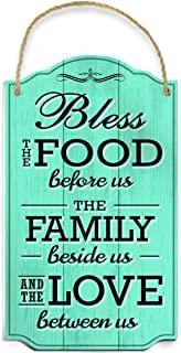 Bless Our Family Food Love Sign by Bigtime Signs – Heart Warming Quote –..