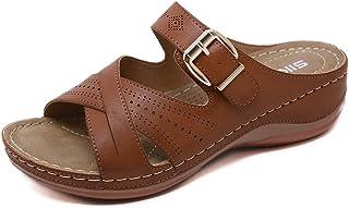 Amazon.it: Marrone Sandali moda Sandali e ciabatte