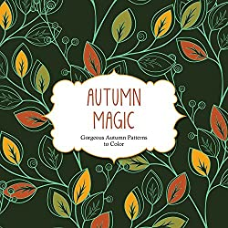 autumn magic coloring book