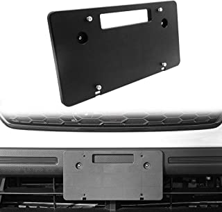 Best subaru crosstrek front license plate delete Reviews