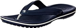 Crocs Unisex Yetişkin Crocband Flip Sandalet, Navy (Mavi), 42-43 Numara