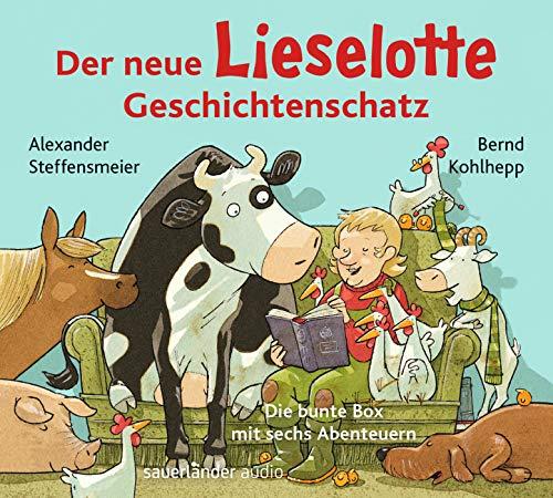 Der neue Lieselotte Geschichtenschatz: Die bunte Box mit sechs Abenteuern