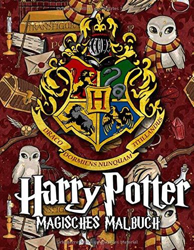 Harry Potter Magisches Malbuch
