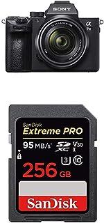 ソニー SONY ミラーレス一眼 α7 III ズームレンズキット FE 28-70mm F3.5-5.6 OSS ILCE-7M3K + SanDisk エクストリーム プロ SDXCカード 256GB Class10 UHS-I 読取り最大95MB/秒 SDSDXXG-256G-EPK [エコパッケージ]