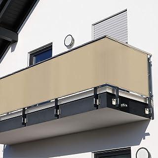MW Handelsgesellschaft mbH Balkonsichtschutz beige 600 x 90 cm