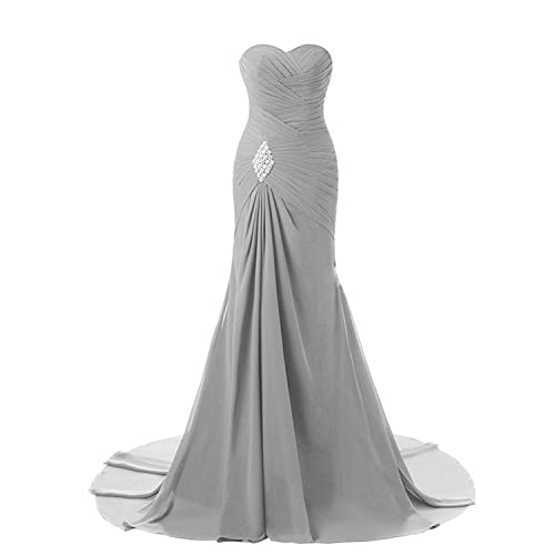 3ec07b896e Lily Wedding Womens Mermaid Prom Bridesmaid Dresses 2018 Long Evening  Formal Party Ball Gowns FED003