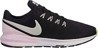 Official Nike Air Zoom Structure 22 Running Shoes Womens Black/Grey Trainers Sneakers