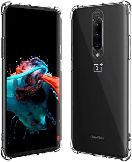 OnePlus 7 Pro case, Anti Dust Speaker, CORN Protective HD Clear Back Cover Case with Reinforced Soft TPU Bumper, Shock Abs...