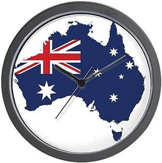 CafePress Flag Map of Australia Unique Decorative 10
