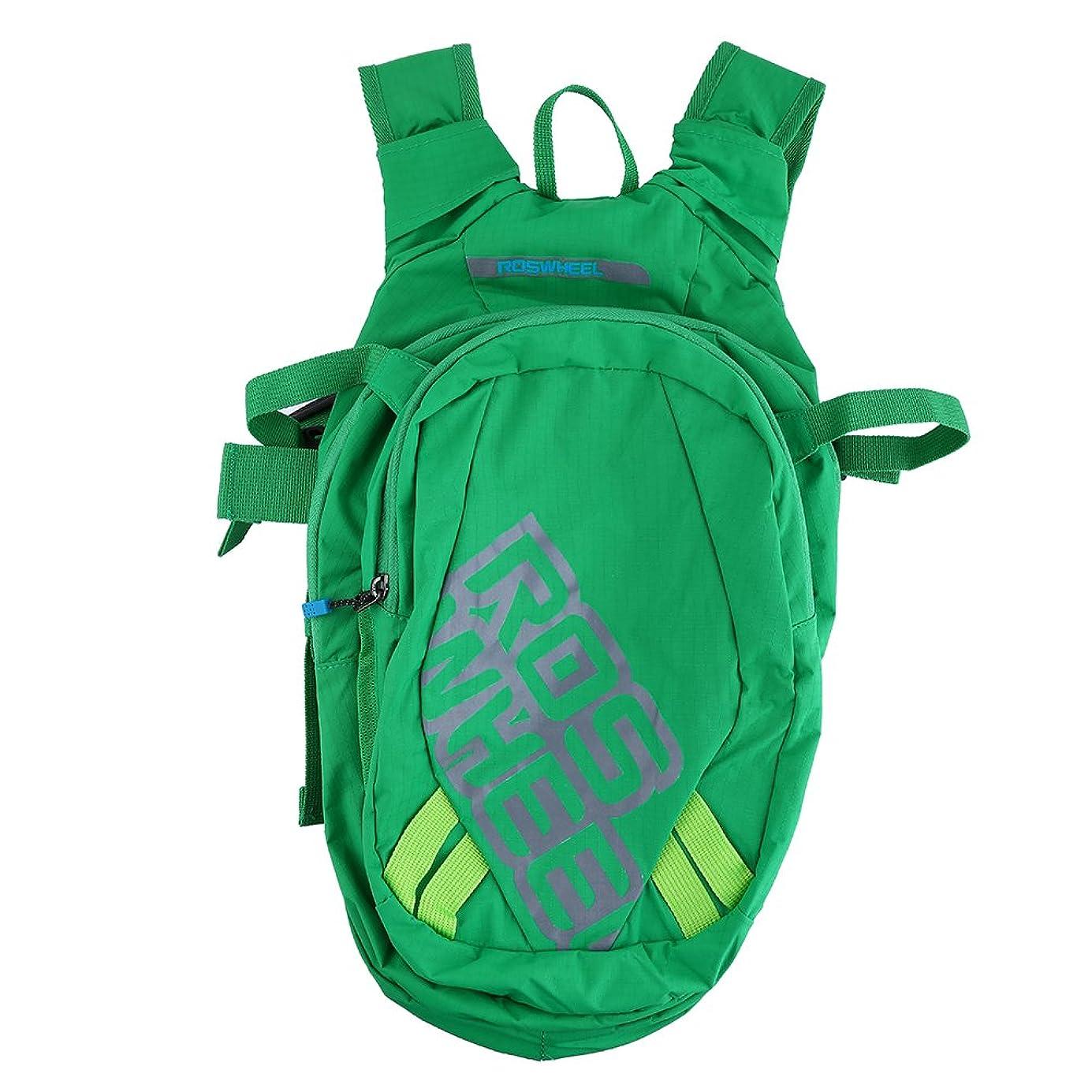 ホームレスペイント地中海8L ハイドレーションバッグ 自転車パック 軽量 多機能 サイクリングウォーターバッグ 水分補給 サイクリング/ランニング/ハイキングに適用 2色