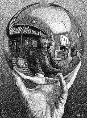 Buffalo Games M.C. Escher, Self Portrait - 1000pc Jigsaw Puzzle by Buffalo Games [Toy] (English Manual)