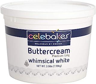 Celebakes White Buttercream Icing , 3.5 Lbs