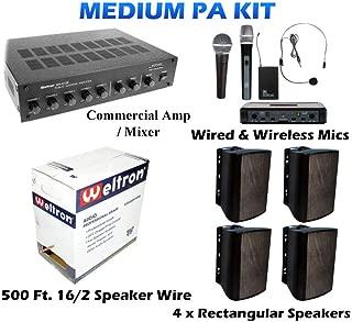 football field speakers