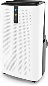 JHS 14,000 BTU Portable Air Conditioner 3-in-1 Floor AC Unit with 3 Fan Speeds, Remote Control and Digital LED Display, Cover up to 500 Sq. Ft Sq.Ft