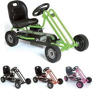 Hauck Lightning - Childrens Pedal Go-Kart, Ride-On Car for Boys & Girls with Ergonomic Adjustable Seat & Sharp Handling - ...