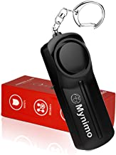 Personal Alarm, Safesound Personal Security Alarms Keychain with LED Light for Women Men, Children and Elderly, by Mynimo ...