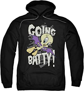 Tweety Bird Girl Cartoon Going Batty Licensed Adult Sweatshirt Hoodie