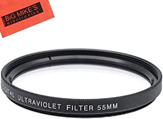55mm UV Protective Filter for Sony Alpha a7, Alpha a7 II, Alpha a7 III Digital Camera with 28-70mm Lens