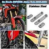 AHOLAA Accesorios de motocicleta Guardabarros Delantero de Acero Inoxidable Elevador kit de Elevación para Honda CRF1000L Africa Twin 2016 2017 2018 2019 2020 2021