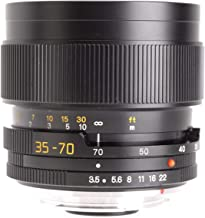 Leica Zoom Wide Angle-Telephoto 35-70mm f/4.0 Vario-Elmar R Manual Focus Lens (with ROM Contacts) 11277
