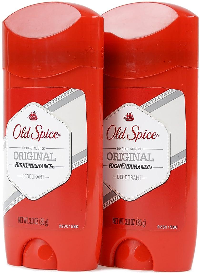シャー保育園影響を受けやすいですオールドスパイス(Old Spice) 固形デオドラント スティック オリジナル 85g×2個[並行輸入品]