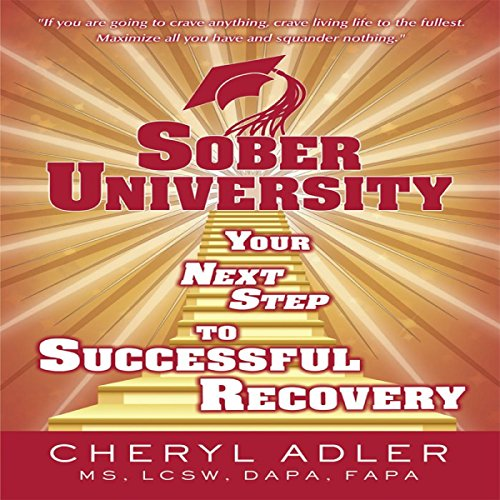 Sober University audiobook cover art