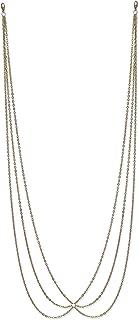FemNmas Metal Bikini Beach Waist Chain for Girl's(Gold)