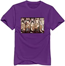 VAVD Man's Attack On Titan 100% Cotton T Shirts