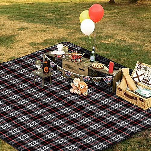 hogardeck Picnic Blankets Beach Mat, 60 x 70 Extra Large Foldable Outdoor Blanket Waterproof Sand Proof Triple Layers...