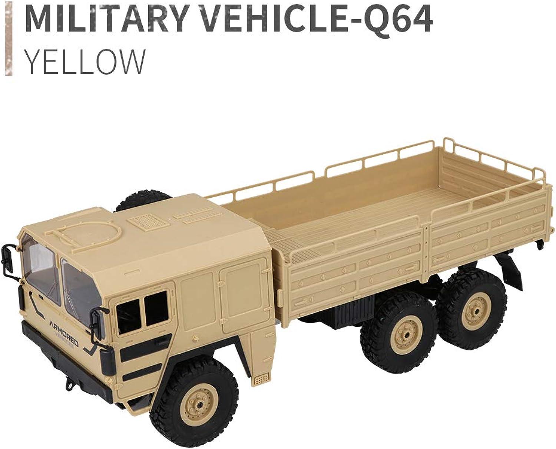gran descuento EisEyen JJRC Q64 - Tarjetas de Mando Mando Mando a Distancia de Seis Ruedas 1 16 6WD RC Auto Military Truck Off-Road Rock Crawler Regalos para Niños  Con 100% de calidad y servicio de% 100.