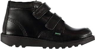 Official Brand Kickers Hi Scuff Shoes Juniors Boys Black Footwwear