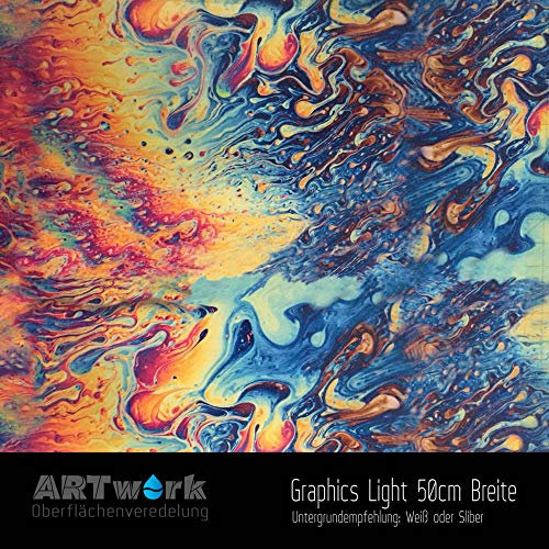 Wassertransferdruck WTD Folie ARTwork Graphics Light 50cm Breite