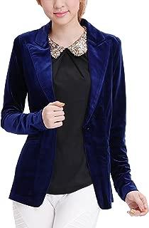 Best velvet blazer navy blue womens Reviews