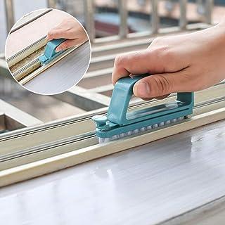 Pulabo Premium Calidad Multifunción Desmontable Cepillo de Limpieza Doble Propósito 2 en 1 Limpiador de Piso Mops Bluereli...