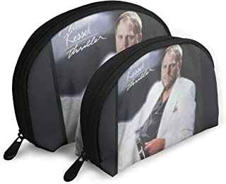 CKA Z KING Phil Kessel Thriller Portable Bags Clutch Pouch Cosmetic Case Carry On Travel Toiletry Bag with Zipper 2Pcs