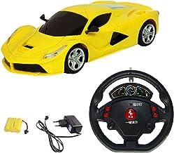 Amitasha Steering Remote Control Car for Boys