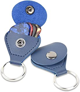 Case for Best Choice Products, Jasmine Guitar pick case, Fender Guitar pick Keychain, Tanbi Music Guitar pick cover, Hape Accessories and Keychain. by Aibus. 2-packs (Blue)