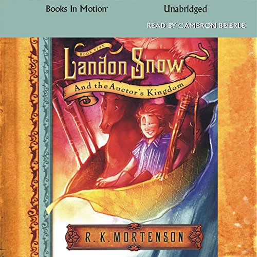 Landon Snow and the Auctor's Kingdom audiobook cover art