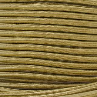 West Coast Paracord Bungee Elastic Nylon Shock Cord (1/4 Inch x 10 Feet, Gold)