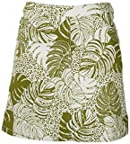 Hearts of Palm Petite Palm Frond Skort 12P Green/White