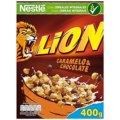 Lion - Cereales con Crema de Caramelo y Chocolate - 4 Paquet