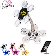 Rotatable Multi-Angle Double-Sided Phone Holder Suction Cup Stand Bracket Desktop Flowers Suction Cup Phone Holder Mount Stand Black