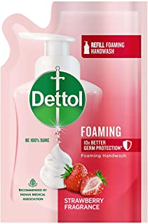 Dettol Strawberry Foaming Germ Protection Handwash Refill, 200ml